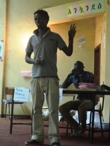 Abdise - voted best speaker in debate.